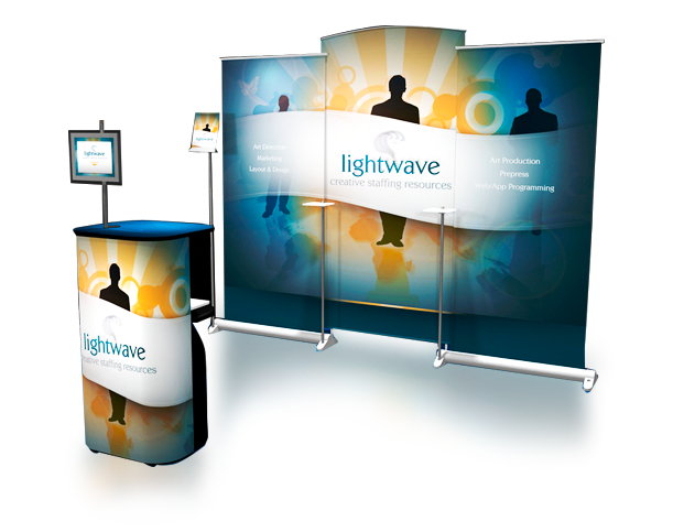 lightwave - Displays portátiles