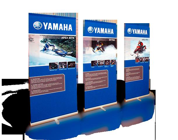 yamaha - Portable Displays
