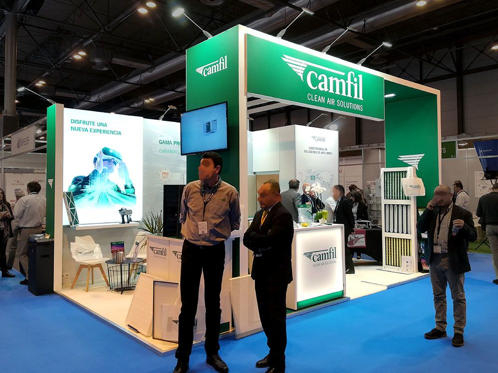 stand camil 1  - Stand Farmaforum Trade Show (Madrid, Spain)