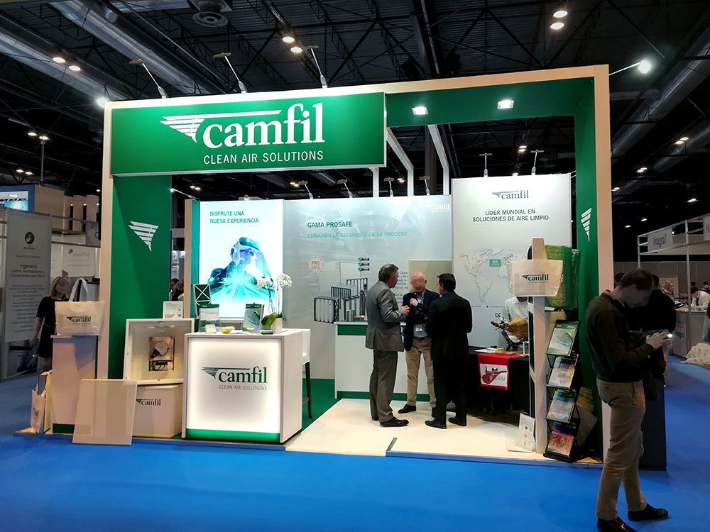 stand camil 3  - Stand Farmaforum Trade Show (Madrid, Spain)