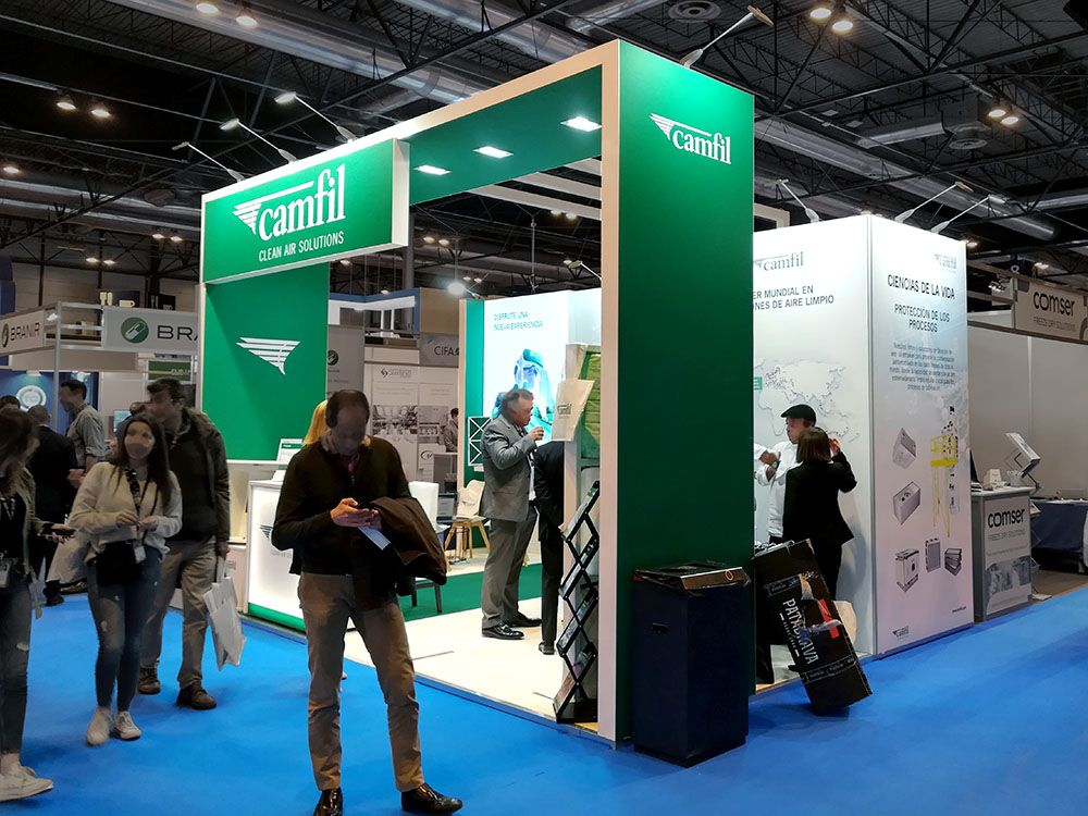 stand camil 4  - Stand Farmaforum Trade Show (Madrid, Spain)