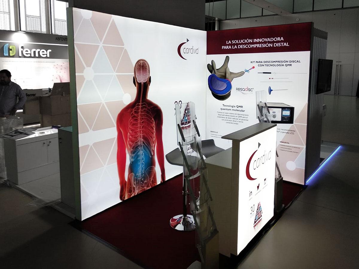 cardiva stand 1 - Stands para Congresos Médicos y Farmaceúticos