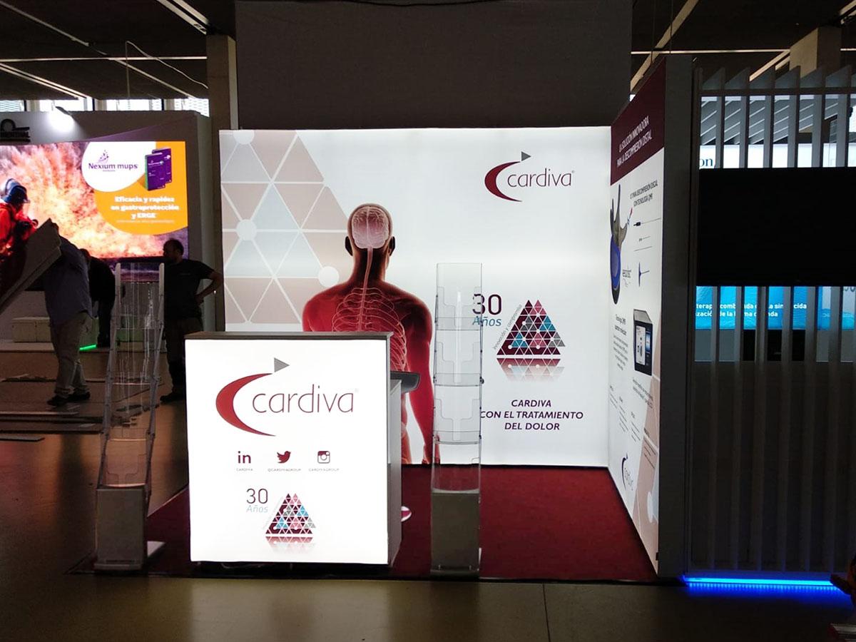 cardiva stand 2 - Stand SED Congress (Zaragoza, Spain)