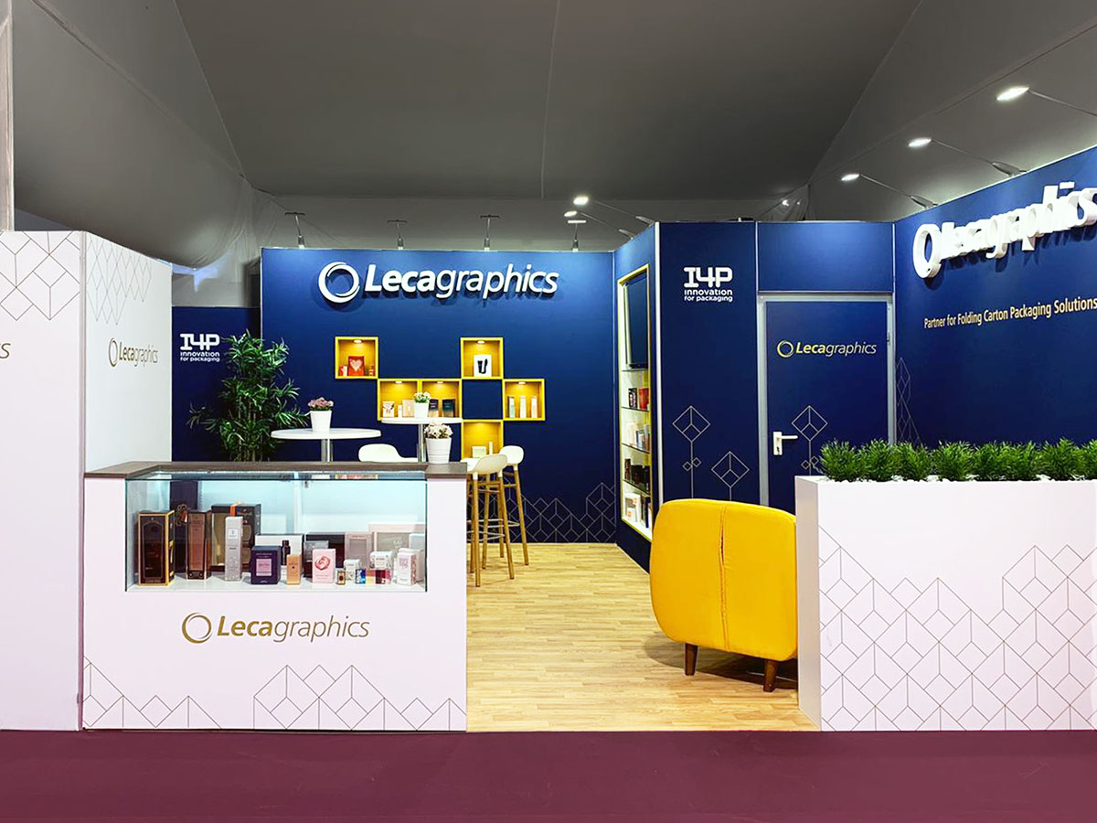 leca stand 1 - Stand Luxepack Trade Show (Monaco)