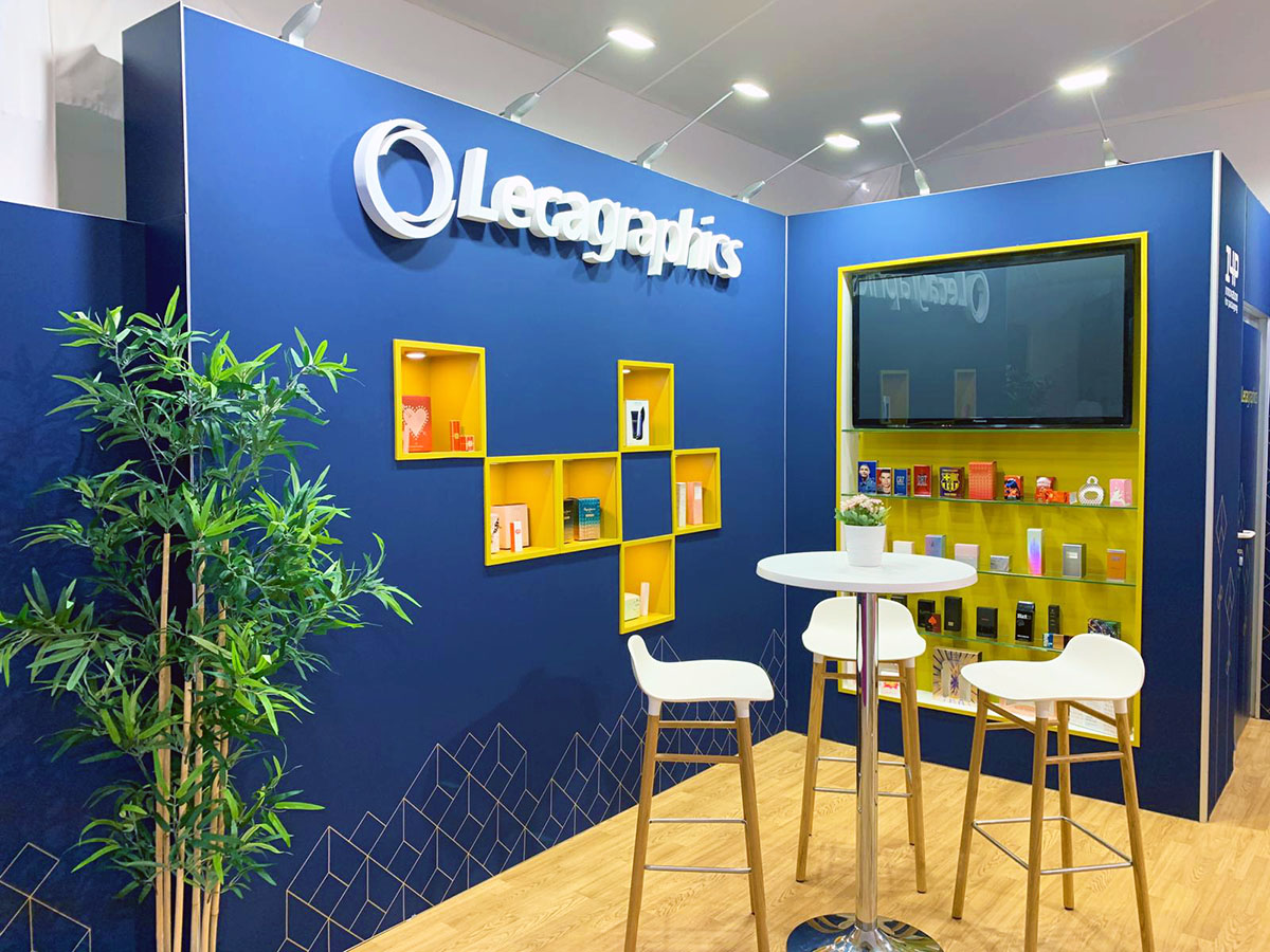 leca stand 2 - Stand Luxepack Trade Show (Monaco)