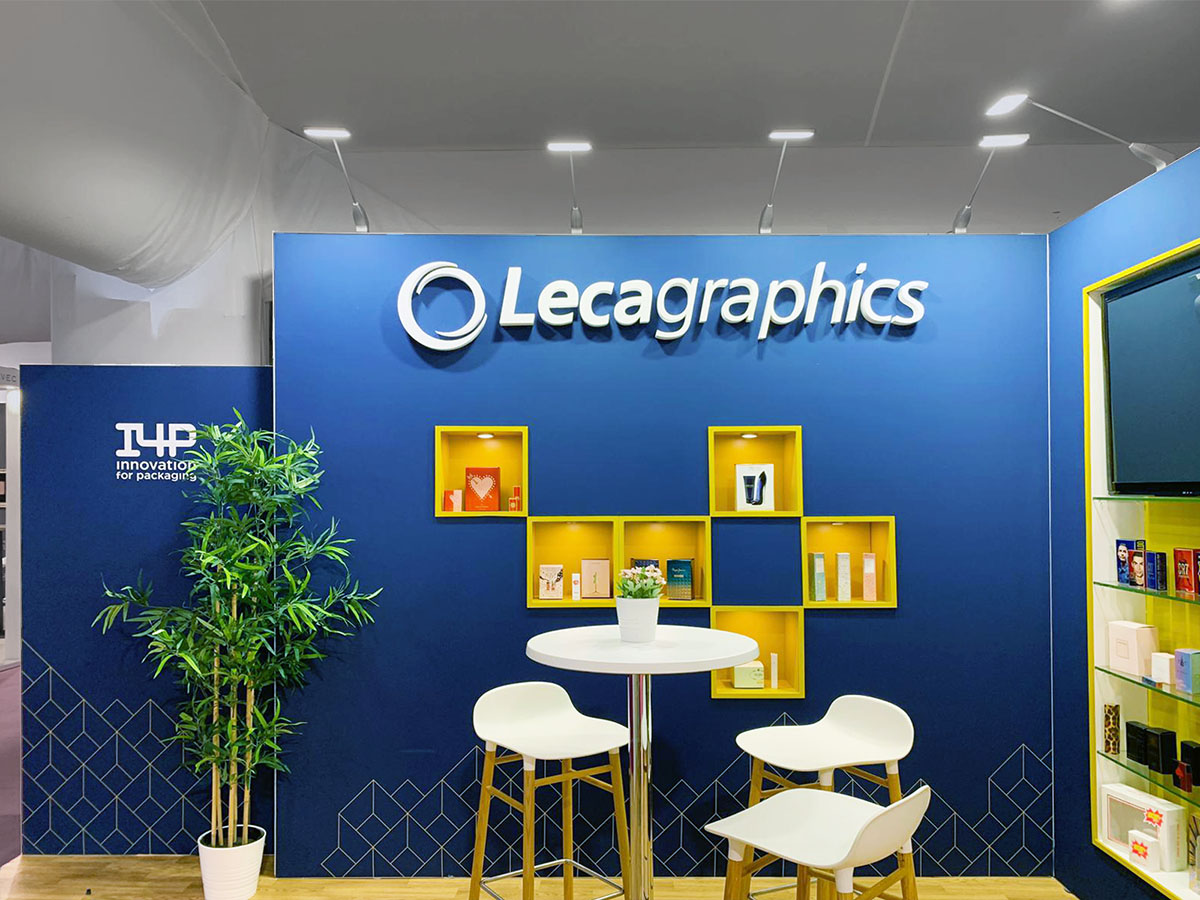 leca stand 3 - Stand Luxepack Trade Show (Monaco)
