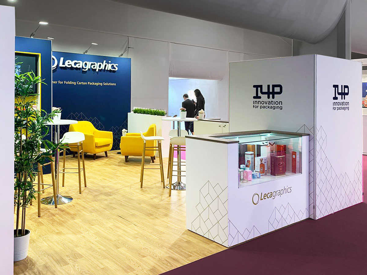 leca stand 4 - Stand Luxepack Trade Show (Monaco)