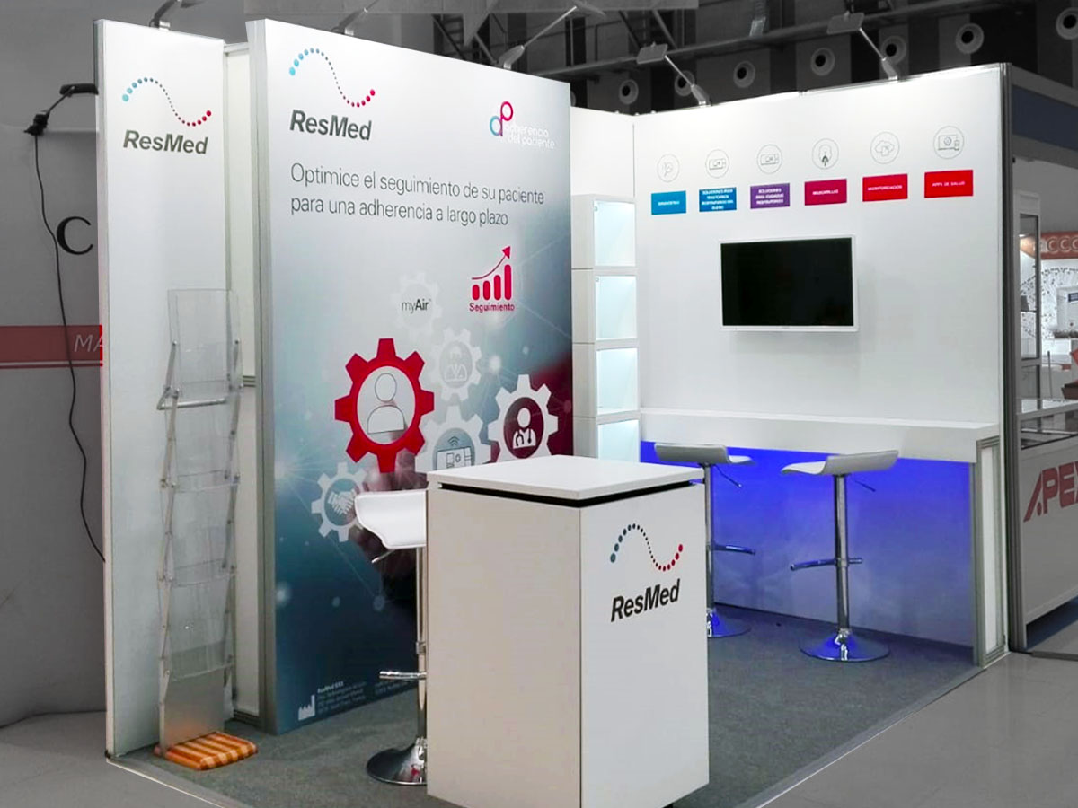 resmed stand 2 - Stand SES Congress (Vitoria, Spain)