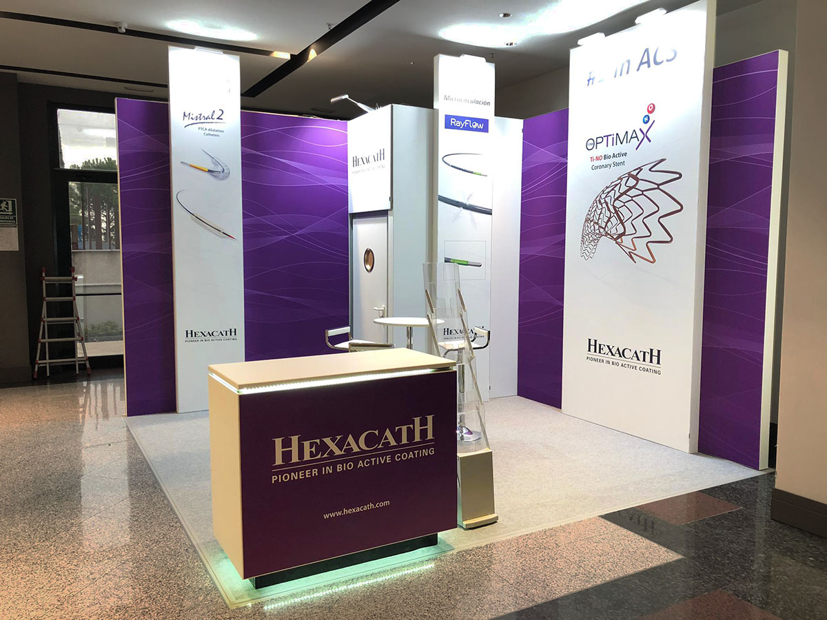 stand hexacath 1 - Stand CSC Congress (Madrid, Spain)