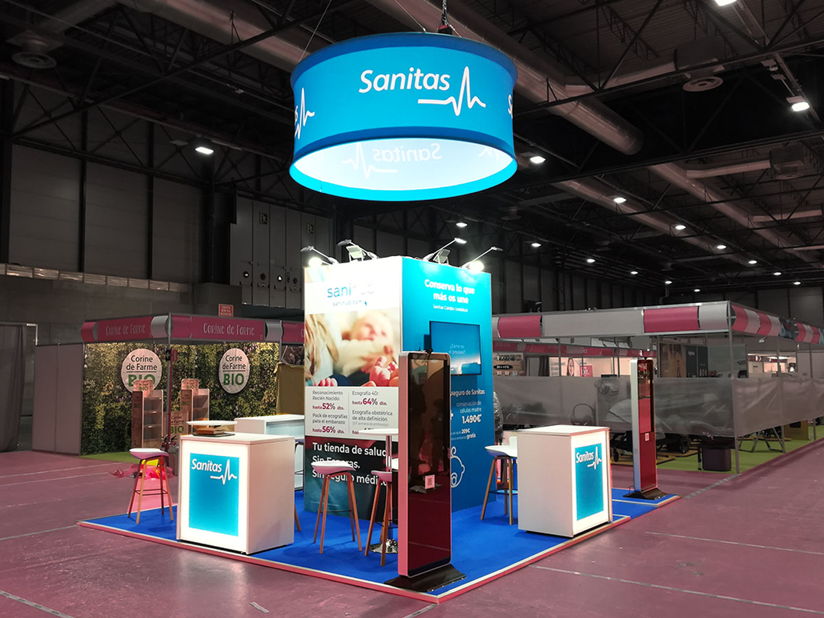 sanitas2b - Stands Internacional
