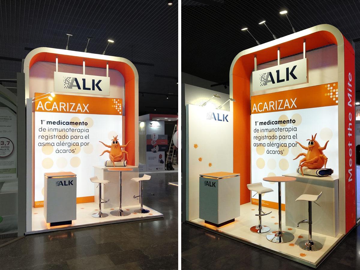 alk - Stand SEPAR Congress (Santiago de Compostela, Spain)
