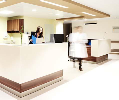 mampara hospital - Mamparas de Protección COVID-19